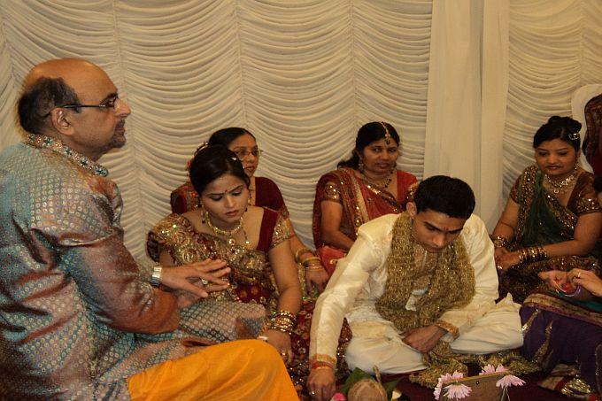 Indian Wedding Group Photo